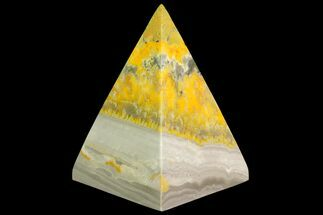 "2.8"" Polished Bumble Bee Jasper Pyramid - Indonesia For Sale, #115001"