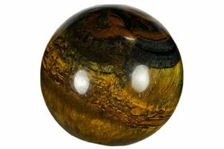 "Buy 1.2"" Polished Blue Tiger's Eye Sphere - #116257"