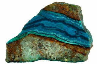"2.5"" Polished Chrysocolla - Bagdad Mine, Arizona For Sale, #114269"