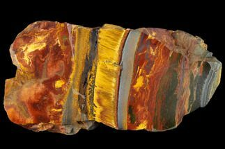 "5.6"" Marra Mamba Tigers Eye - Mt. Brockman (2.7 Billion Years) For Sale, #117176"
