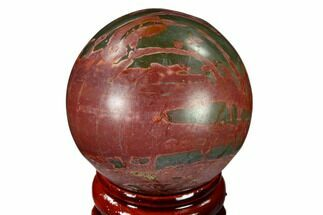 "Buy 1.55"" Polished Cherry Creek Jasper Sphere - China - #116215"