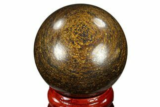 "Buy 1.6"" Polished Bronzite Sphere - Brazil - #115990"