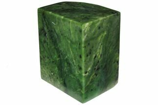 "Buy 4"" Wide, Polished Jade (Nephrite) Section - British Colombia - #117628"
