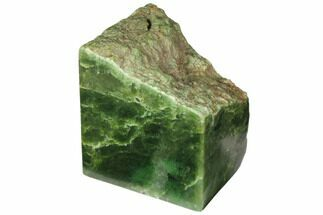 "4.7"" Tall, Polished Jade (Nephrite) Section - British Colombia For Sale, #117632"