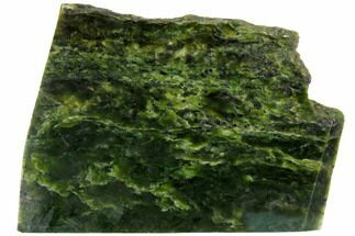 "Buy 6.5"" Polished Canadian Jade (Nephrite) Slab - British Colombia - #117637"