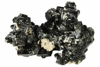 "1.8"" Black Tourmaline (Schorl) and Orthoclase Feldspar - Namibia For Sale, #117512"