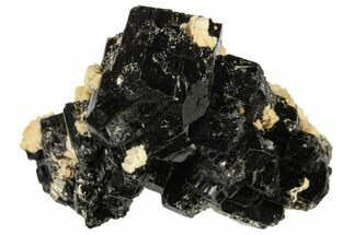 "Buy 1.8"" Black Tourmaline (Schorl) and Orthoclase Feldspar - Namibia - #117517"