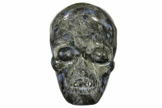 "2.5"" Carved, Que Sera Stone Skull - Brazil For Sale, #118097"
