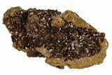 "2.3"" Red-Brown Jarosite Crystal Cluster - Colorado Mine, Utah - #118151-1"
