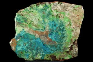 Chrysocolla & Malachite - Fossils For Sale - #119745