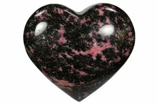 Rhodonite with Manganese Oxide - Fossils For Sale - #117354