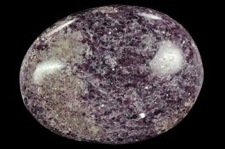 "Buy 3.2"" Sparkly, Purple Lepidolite Palm Stone - Madagascar - #119302"