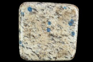 "Buy 1.7"" Polished K2 Granite (Granite With Azurite) - Pakistan - #120409"
