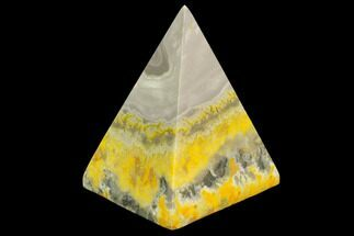 "Buy 2.8"" Polished Bumblebee Jasper Pyramid - Indonesia - #114982"