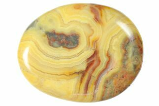 Buy Polished Crazy Lace Agate Flat Pocket Stone  - #121111
