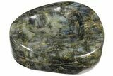 "7.2"" Flashy Labradorite Heart-Shaped Dish - Madagascar - #120739-2"