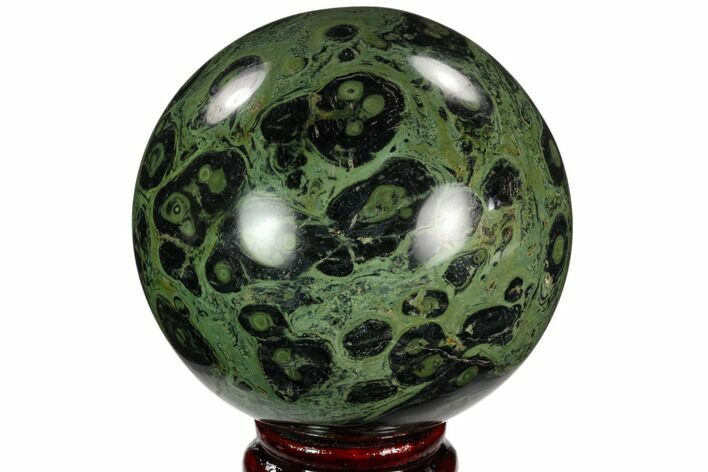 "3.2"" Polished Kambaba Jasper Sphere - Madagascar"