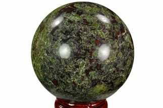 "Buy 2.2"" Polished Dragon's Blood Jasper Sphere - South Africa - #121582"