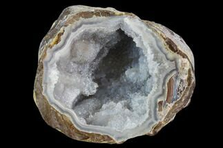 "Buy 2.9"" Crystal Filled Dugway Geode (Polished Half) - #121663"