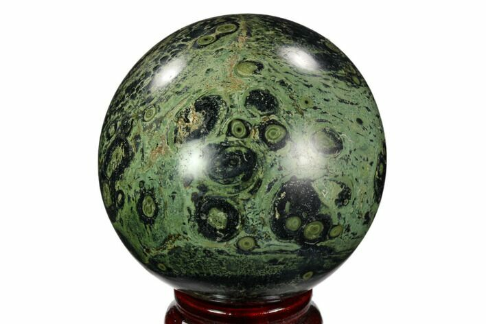 "2.8"" Polished Kambaba Jasper Sphere - Madagascar"