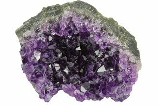 "Buy 3.6"" Dark Purple, Amethyst Crystal Cluster - Uruguay - #122056"
