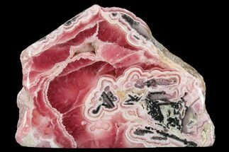 Rhodochrosite & Pyrite - Fossils For Sale - #122205