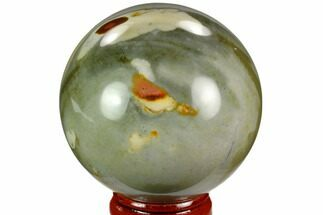 "2.2"" Polished Polychrome Jasper Sphere - Madagascar For Sale, #124133"