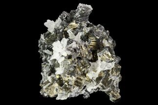 "1.8"" Pyrite, Sphalerite and Quartz Association - Peru For Sale, #124409"