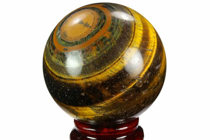 "2.6"" Polished Tiger's Eye Sphere - Africa"