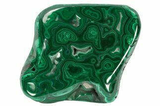 "3.8"" Polished Malachite Specimen - Congo For Sale, #125792"