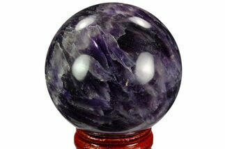 "1.95"" Polished Amethyst Sphere For Sale, #124520"