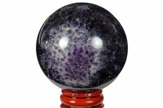 "Buy 2.35"" Polished Chevron Amethyst Sphere - #124513"