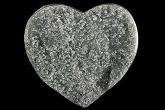 "Buy 3.5"" Green Quartz Heart - Uruguay - #123709"