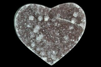 "2.6"" Purple, Amethyst Heart - Uruguay For Sale, #123755"