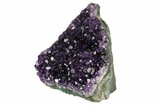 "Buy 3.8"" Dark Purple, Amethyst Crystal Cluster - Uruguay - #123808"