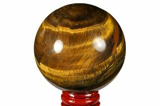 "2.55"" Polished Tiger's Eye Sphere - Africa For Sale, #124649"