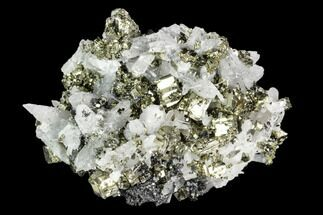 "Buy 3"" Pyrite, Sphalerite and Quartz Crystal Association - Peru - #126583"