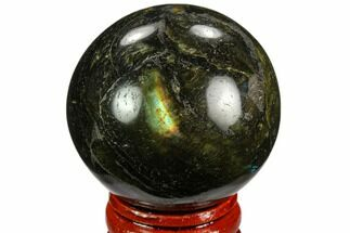 "Buy 1.7"" Polished Labradorite Sphere - Madagascar - #126799"