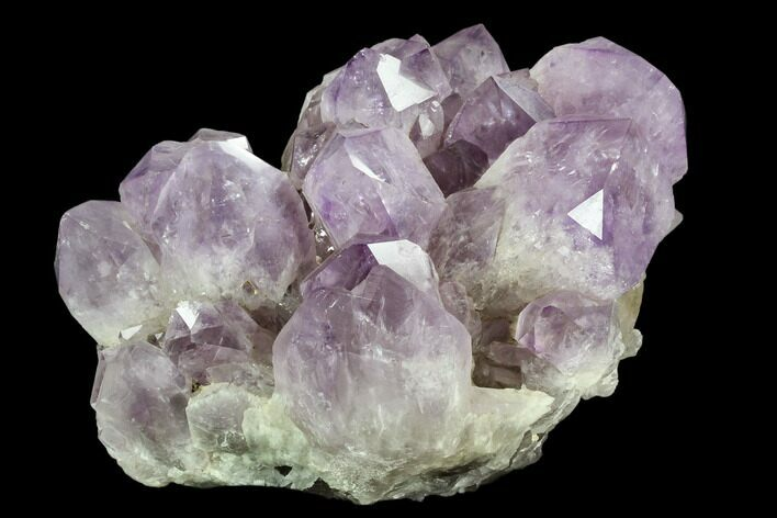 "9.5"" Wide Amethyst Crystal Cluster - Large Points"