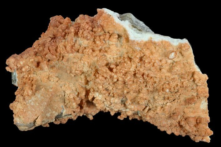 "5.3"" Orange Aragonite on Scalenohedral Calcite Cluster - Mexico"