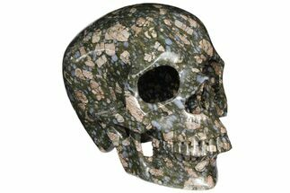 "10"" Hollowed-Out, Que Sera Stone Skull - Brazil For Sale, #127580"