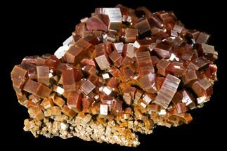 "2.8"" Gorgeous, Red Vanadinite Crystal Cluster - Large Crystals For Sale, #127649"