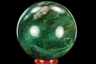 Jade var. Nephrite & Pyrite - Fossils For Sale - #128400