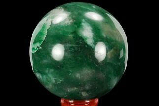 "Buy 2.85"" Polished Swazi Jade (Nephrite) Sphere - South Africa - #128401"