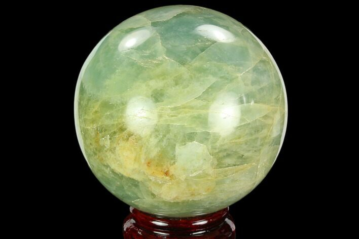 "2.9"" Polished Aquamarine Sphere - Angola, Africa"
