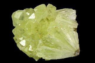 "Buy .8"" Yellow-Green Adamite Crystal Cluster - Durango, Mexico - #127030"