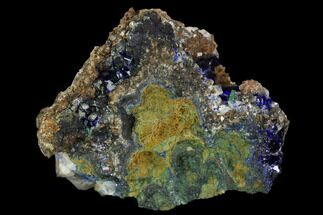 "1.9"" Sparkling Azurite, Malachite and Calcite Association - Mexico For Sale, #126989"