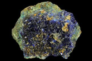 Azurite & Malachite - Fossils For Sale - #126990