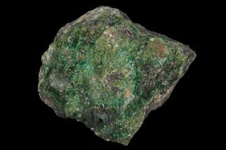 ".8"" Fibrous Malachite Crystal Cluster - Mexico For Sale, #126959"