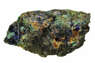 Azurite & Malachite - Fossils For Sale - #126945